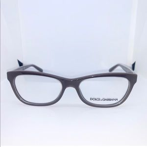 Dolce & Gabbana Crystal on Brown Eyeglasses